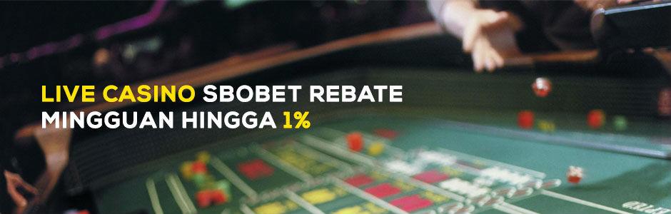 Keuntungan bermain live casino online pada agen resmi sbobet